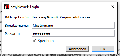 ePost login easyNova
