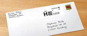 Porto und Postgebühren der Deutsche Post AG
