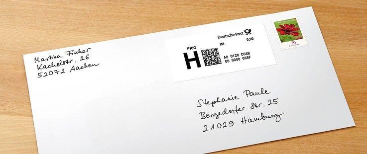 Porto Gebühren Sparen Online Briefe Versenden