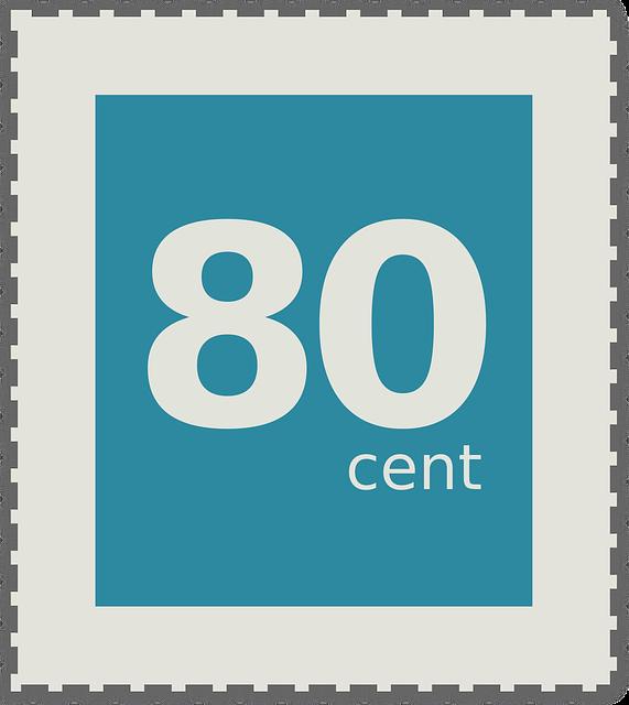 Gewicht Brief 62 Cent