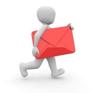 wann kommt die post